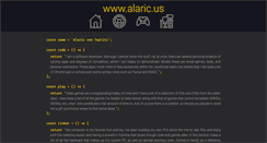 Preview of alaric.us